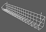 Корзина-полка навесная 700/200мм на торговую сетку  (от производителя), фото 2