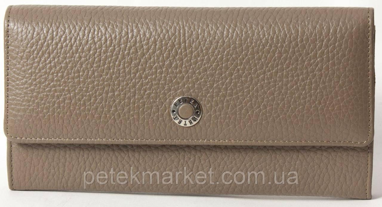 Кожаный женский кошелек Petek 466-46BD-45