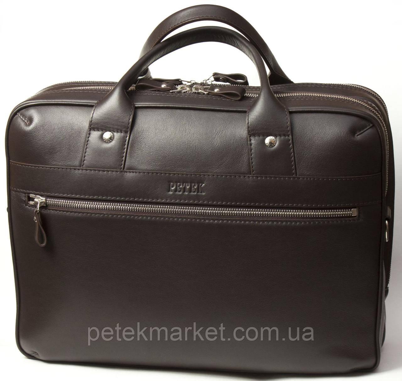 Кожаная сумка Petek 3799-167-02