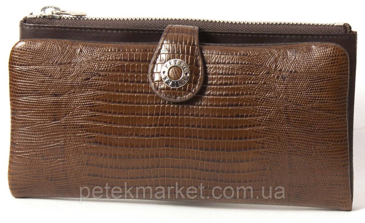 Кожаный женский кошелек Petek 474-041-02