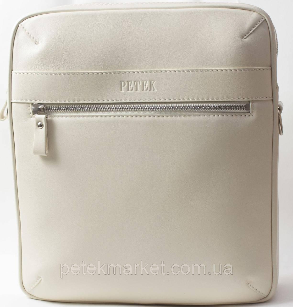 Кожаная мужская сумка Petek 3796