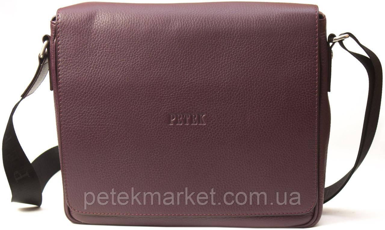 Кожаная мужская сумка Petek 3840-46BD-03
