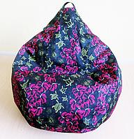 Кресло груша Принт Черепахи, фото 1