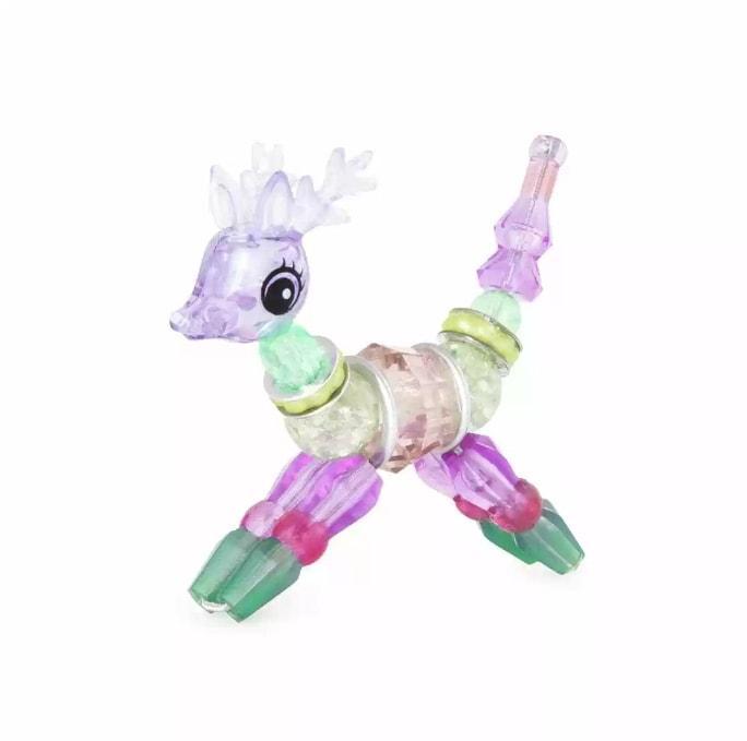 Twisty Petz Snowshine Deer Твисти Петс Снежный Олень магический браслет для девочек