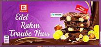 K-CLASSIC  Edel Rahm Traube Nuss (молочный с орехами и изюмом) 200G. Германия