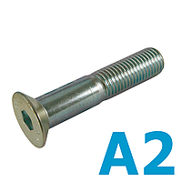 Винт метрический DIN7991 М5х10 нержавеющий А2 (500 шт в уп.)