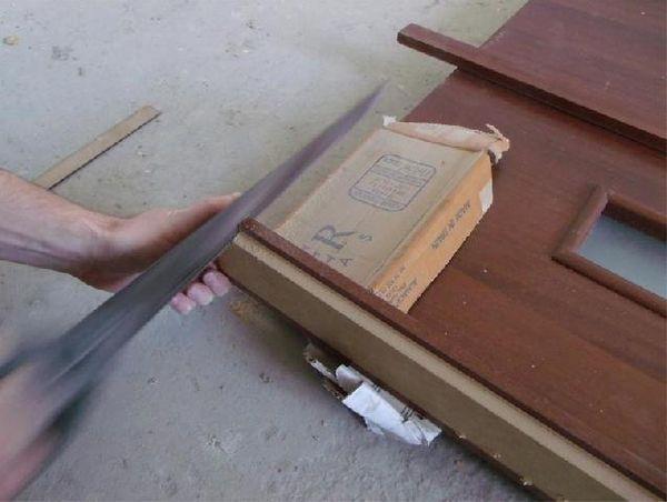 Обрезка ручной пилой
