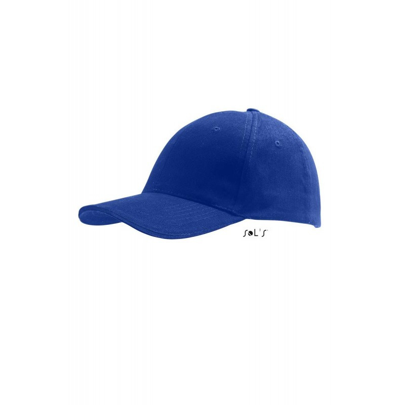 Кепка Бейсболка Ярко-синий летняя ОПТ