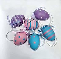 Яйца пластиковые 6 шт. (4см)_ПАСТЕЛЬНЫЕ, фото 1