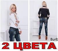 Рубашка BURBERRY-Барбери Латки! 2 ЦВЕТА!