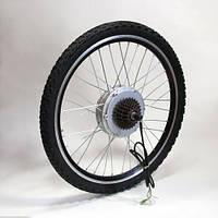 """Мотор-колесо 48V 600W ,24"""",26"""",28""""редукторное заднее, фото 1"""