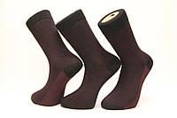 Стрейчевые жаккардовые мужские носки Ф15, фото 1