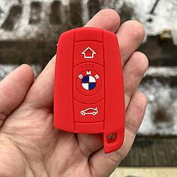 Силиконовый чехол для ключа BMW 1,2,3,4,5,6,7,8,I3,I8,m1,m2,m3,m4,m5, m6,x1,x2,x3,x4,x5,x6,Z4,F10,15,20,30,48