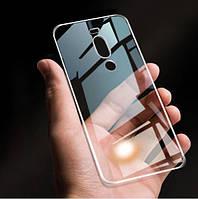 Meizu X8 чехол TPU transparent