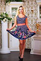 """Женское летнее платье цветочный принт """"Нежность"""", фото 1"""