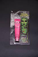Грим розовый, краски для лица детская косметика 19 грамм смываются водой, аквагрим, фото 1