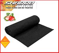 "Агроволокно  42 г/м², 3,2х100 м. чёрное в рулонах UF-4%  ""Shadow""(Чехия), фото 1"