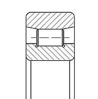 Подшипник 2132 М (NU1032 MA)