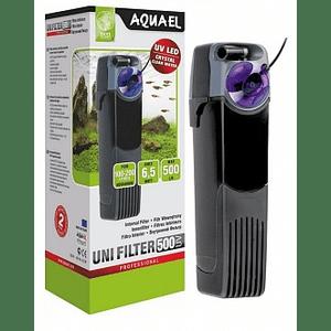 Внутренний фильтр Aquael UniFilter 500 UV до 200л., фото 2
