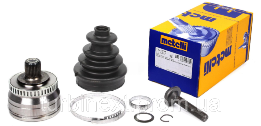 Шрус (наружный) METELLI 15-1375 W Passat 1.6/1.8/2.0 96-05 (33/30/53mm) (ABS45)