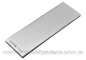 Брусок абразивний, алмазний, для заточування YATO : 150 х 50 х 4 мм, з грануляцією G400