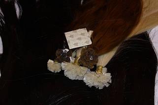 45 см волосы славянского типа и европейского для капсульного наращивания