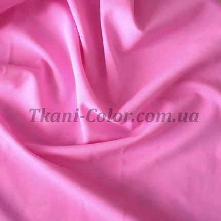 Трикотаж бифлекс (купальник) матовый розовый, фото 2
