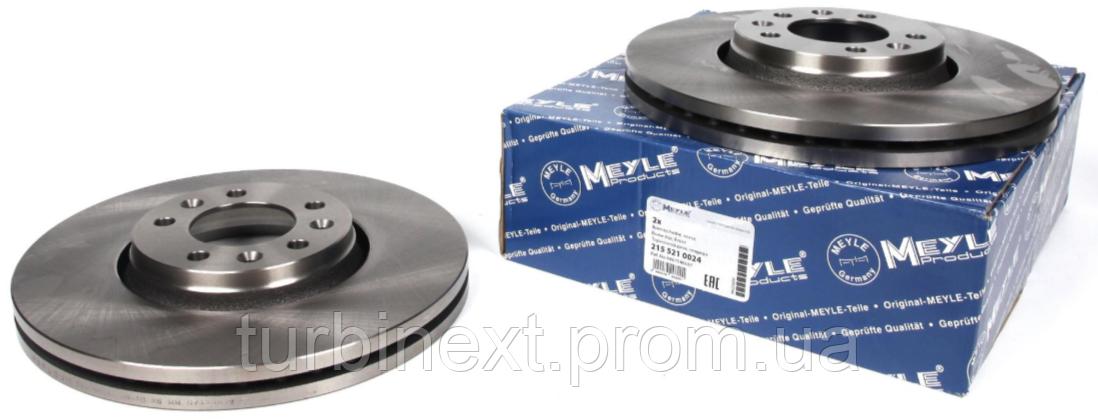 Диск гальмівний MEYLE 215 521 0024 (передній) Fiat Scudo 07- (304x28) MEYLE 215 521 0024