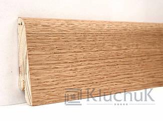 Плинтус Kluchuk Евро KLE60-01 Дуб Натуральный 60мм