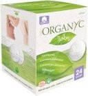 Corman Вкладыши для груди из органического хлопка Organic Baby Nursing Pads made with organic Cotton 24 шт, 8016867001274