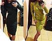 Теплое вязанное платье, фото 4