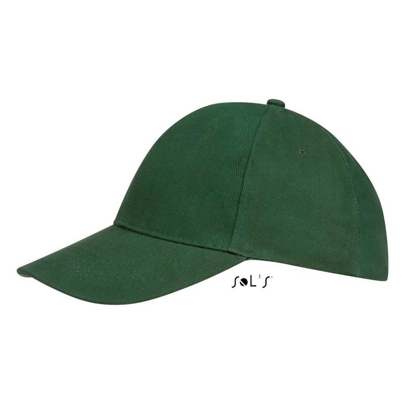 Кепка Бейсболка Темно-зеленый Буфало летняя ОПТ