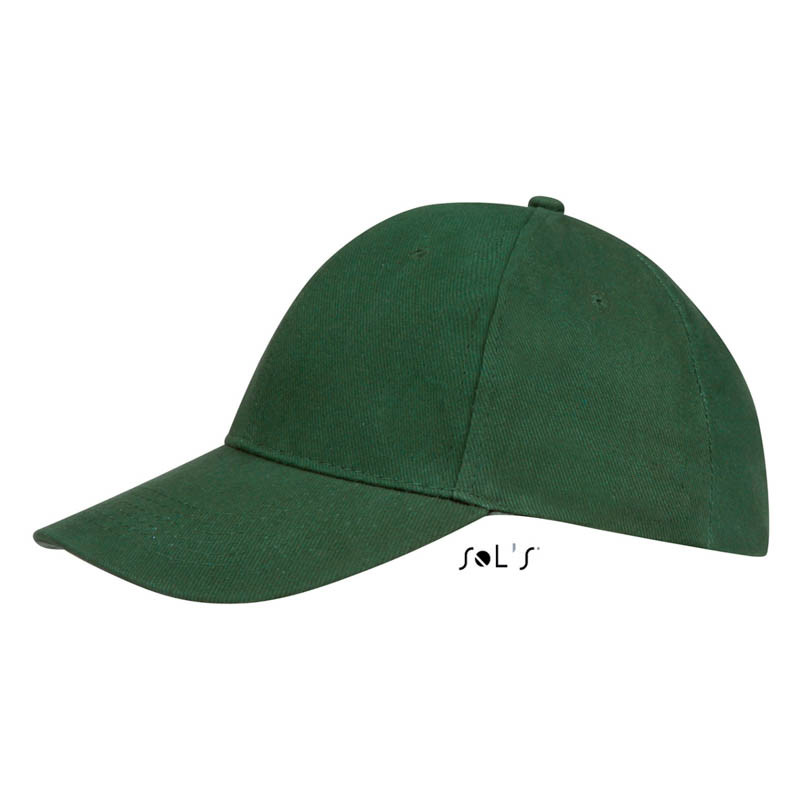 Кепка Бейсболка Темно-зеленый Буфало летняя ОПТ, фото 1