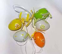 Яйца пластиковые 6 шт. (4см)_РАЗНОЦВЕТНЫЕ, фото 1