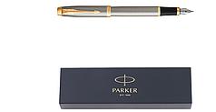 Ручка перьевая Parker IM BRUSHED GT