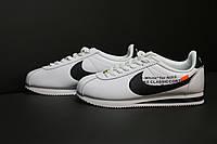 Мужские кроссовки Nike Cortez  OFF WHITE(ТОП РЕПЛИКА ААА+)