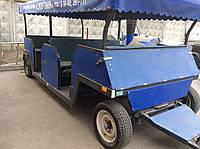 Туристический прицеп на 16 мест с тормозами.