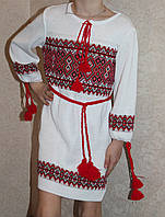 Платье вышиванка для девочки