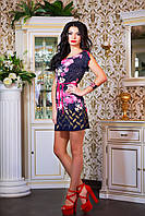 """Легкое,нежное женское платье """"Цветы,геометрия"""", фото 1"""