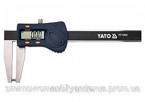 Штангенциркуль электронный для тормозных дисков YATO 180 мм