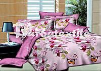 Двуспальный макси набор постельного белья орхидея