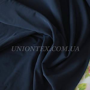 Трикотаж бифлекс (купальник) матовый темно-синий