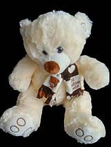 Мягкая игрушка Мишка 41 см плюшевый подарок любимой девушке на 8 марта день влюбленных, фото 3