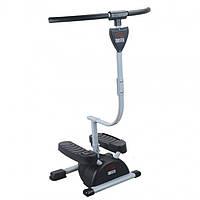 Степпер, тренажер для ног, Кардио-твистер, Cardio Twister. 1000175-Black-0