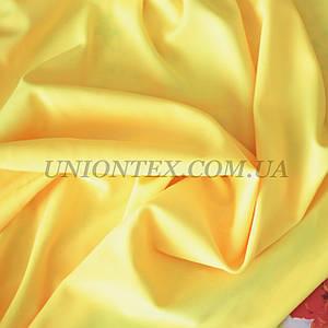 Трикотаж бифлекс (купальник) матовый желтый