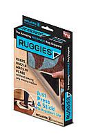 Держатели липучки для ковров Ruggies, ковродержатели 8 шт., (1000884-Black-0)