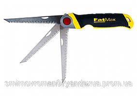 """Ножівка по гіпсокартону розкладна STANLEY """"FatMax"""" : з полотном L= 130 мм, 8 зуб/1"""""""