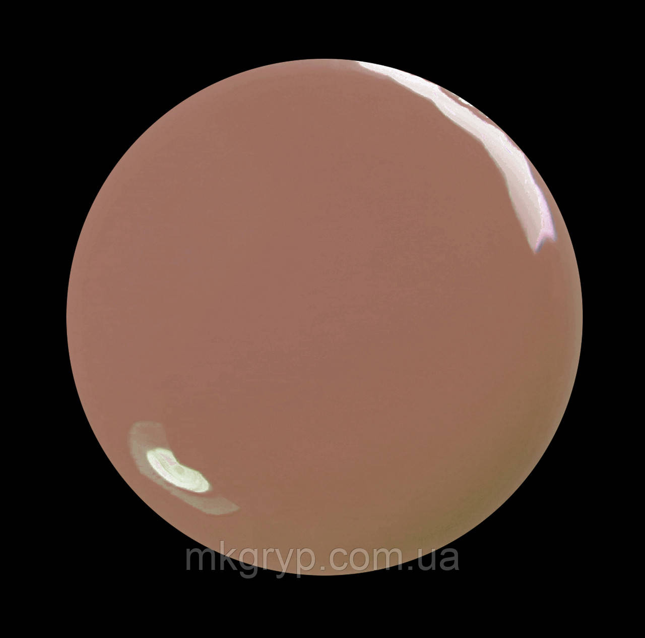 Гель-лак для  ногтей  SALON PROFESSIONAL № 164 (CША) 17 молочно-бежевый  эмаль