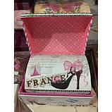 """Коробка подарочная """"Сундучок""""   - набор 3 шт., фото 2"""
