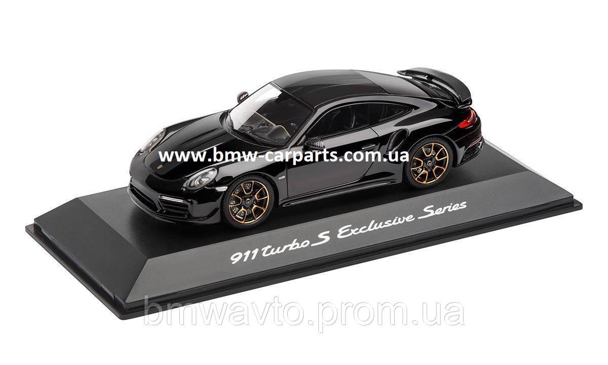 Модель автомобиля Porsche 911 Turbo S, Exclusive Series, 1:43